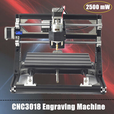 DIY CNC3018 2500MW Laser Engraving CNC Carving Engraver Carved Printer 30x18cm