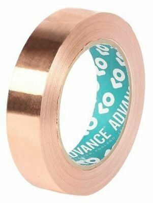 Advance Tapes AT528 Conductive Copper Tape, 10mm x 33m