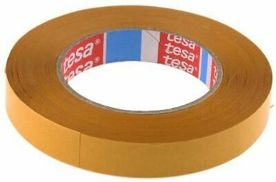 Tesa 4959 Translucent Double Sided Cloth Tape, 19mm x 50m, 0.12mm Thick