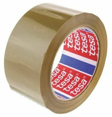 Tesa 4124 Brown Single Sided Packaging Tape 66m x 50mm