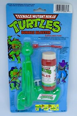 "Teenage Mutant Ninja Turtles ""BUBBLE BLASTER"" Henry Gordy 1988 VHTF"