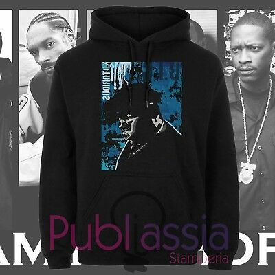 Biggie Small Felpe Cappuccio Girocollo Hip Hop Rap Notorious Big idea regalo 37