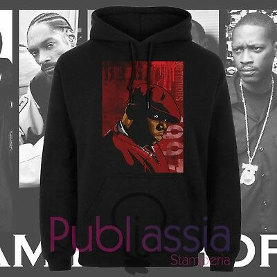 Biggie Small Felpe Cappuccio Girocollo Hip Hop Rap Notorious Big idea regalo 38