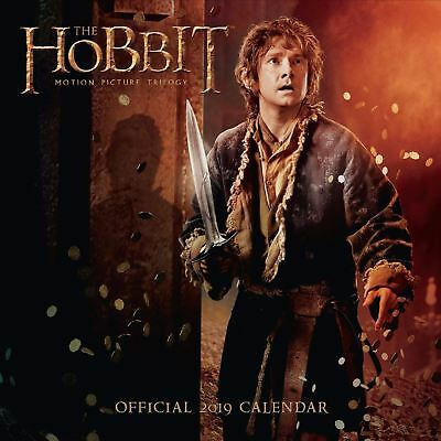 Official 2019 The Hobbit Calendar Square Wall Hanging Gift Birthday Present