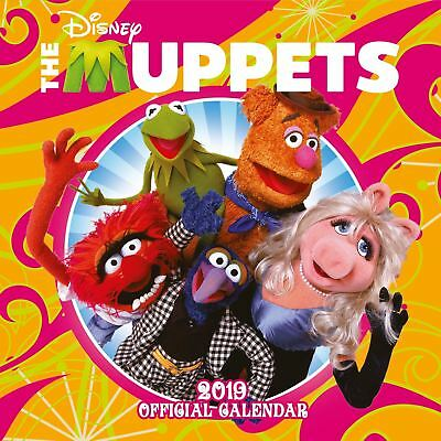 Official 2019 The Muppets Calendar Square Wall Hanging Gift Birthday Present