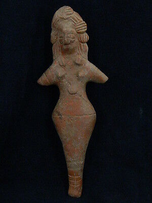 Ancient Large Size Teracotta Mother Goddess Indus Valley 600 BC   #SG3026