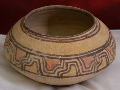 Ancient Large Size Teracotta Painted Pot  Indus Valley 2500 BC #CCH1