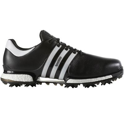 adidas Tour 360 Boost 2.0 Mens Leather Waterproof Golf Shoes - Wide Fitting