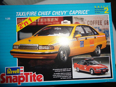 1/25 Taxi/ Fire Chief Chevy Caprice