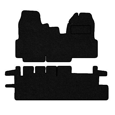 Tailored Velour Floor Mats For Ford Transit 2006- 2010  (280 Crew Cab)