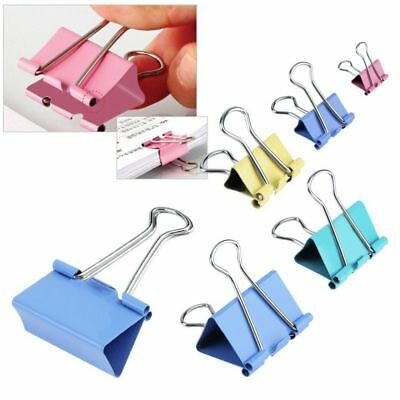 Colorful Binder Metal Paper Clip Assorted Colors Office Supplies Random Color