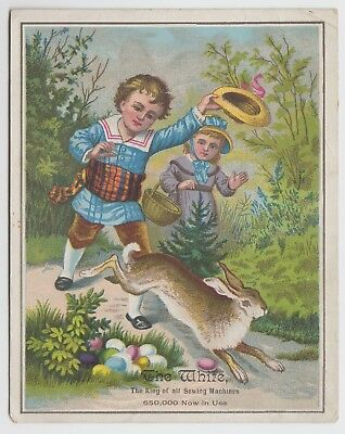 Pataskala Ohio Dealer for White Sewing Machine Victorian Advertising Trade Card