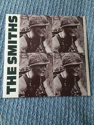 The Smiths Meat Is Murder Lp New And Sealed Fast Dispatch