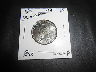 2009 P NORTHERN MARIANA IS. Territorial Quarter BU: LOW MINTAGE Coin