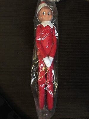 Elf on the Shelf, A Blue-Eyed Boy Doll Elf.  Clean New Christmas Santa