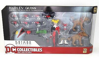 DC Collectibles Batman The Animated Series: Harley Quinn Expressions Pack