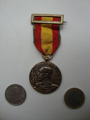 Vintage Spanish Colonial Africa Military Medal Decoration Alfonso XIII 1911-12