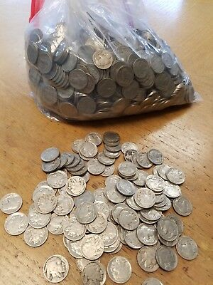 100 Mixed Date Buffalo Nickels with dates!  Grade With photo's!