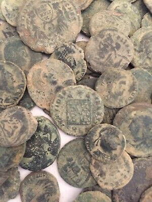 Premium Grade Uncleaned Roman Coins With Desert Patina. Picked At Random X 3