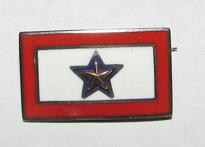 Gold Star Son/daughter Killed In Service Pin United States Army/marines & Navy