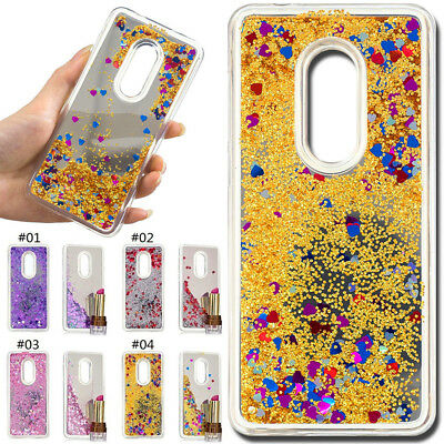 For Alcatel Phones Dynamic Liquid Cover Glitter 3D Quicksand Mirror Case Skin
