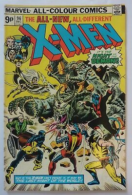 Uncanny X-Men 96 1st Series 1975 1st Moira McTaggart F++/VFN Condition