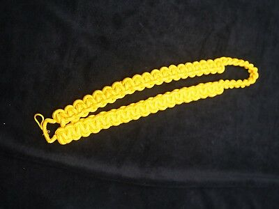 Military/Police Shoulder Cords Aiguilletta Yellow Box Braid. FREE Shipping!