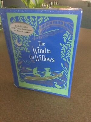 The Wind in the Willows Kenneth Grahame Illustrated Sealed New Leather Bound
