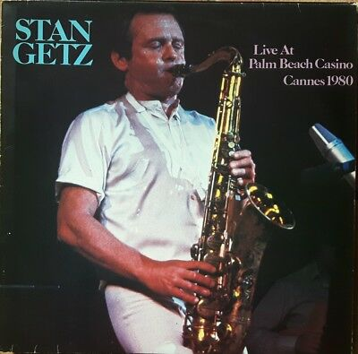 Jazz Vinyl: Stan Getz, Live at Palm Beach Casino Cannes 1980