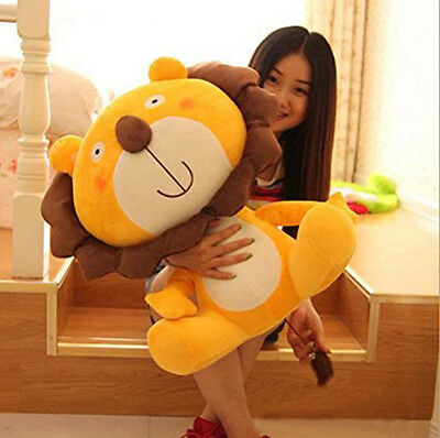 24in.60CM Big Plush Lion Giant Large Stuffed Soft Plush Toy Doll Pillow gift