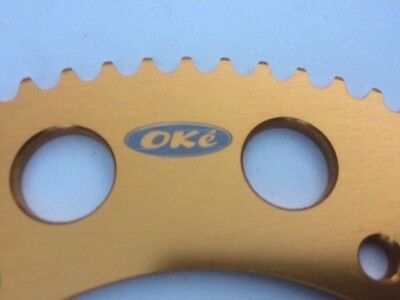 Oke GOLD 83 Tooth Go Kart Sprocket Gear - Quality Alloy Suit 219 Chain