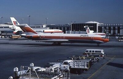 Pacific Southwest Airlines PSA Boeing 727 o/c N559PS 1984 - Original 35mm slide