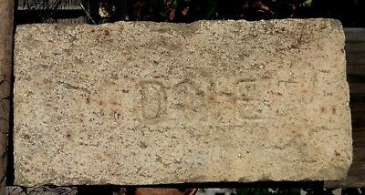 Antique Fire Brick Stamped 'ione' Amadore County California