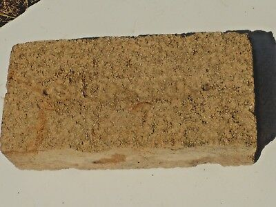 Antique Stockton California Fire Brick Last Name Birthday
