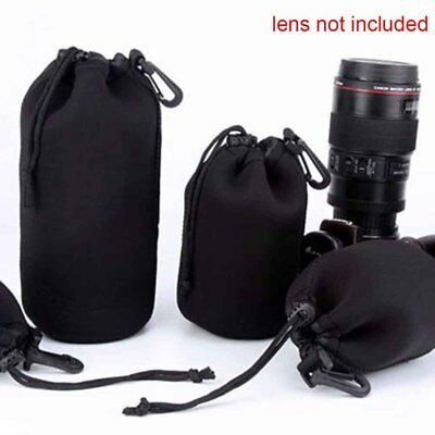 Neoprene Bag DSLR Case Camera Lens Pouch Protector For Canon Nikon Sony DSLR