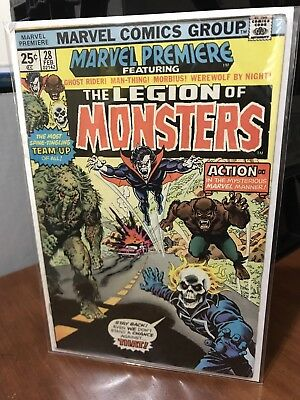 Marvel Premiere #28 - 1st Legion of Monsters Classic Cover