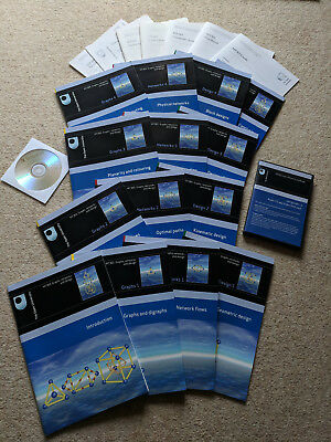 MT365: Graphs, Networks and Design (Complete Open University Module) + Extra DVD