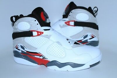 ee45106cc5e1 AIR JORDAN VIII 8 WHITE TRUE RED BUGS BUNNY 2013 RETRO OG ORIGINAL Size 10.5