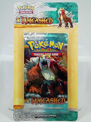 Pokemon Heart Gold Soul Silver HGSS Unleashed Blister Booster Pack Entei Sealed