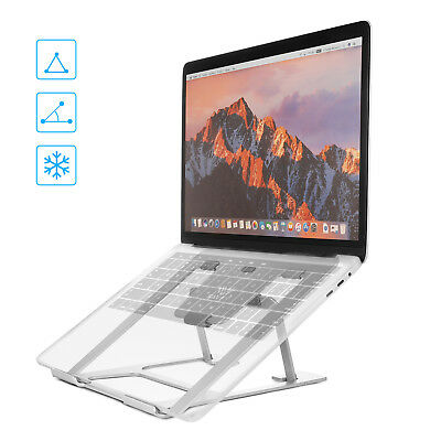 Portable Adjustable Laptop Table Desk Stand Lazy Foldable Computer For MacBook