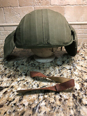 WWII USAAF Army Air Force M4A2 Flak Helmet WW2 (M319)