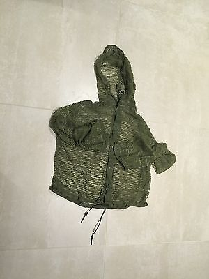 "mesh hoody,military,new old stock us made,1982""mosquito  parka"",medium"