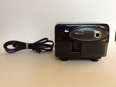 Panasonic Electric Pencil Sharpener KP-310 with Auto-Stop - Black - Tested!