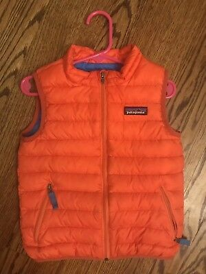Patagonia Baby Toddler Down Sweater Vest 3t Boy Girl 4800 Picclick