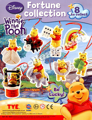 Disney Winnie the Pooh Fortune Collection - Tomy 8 PEZZI