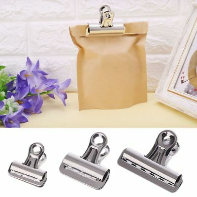 Metal Bulldog Grip Clips Paper Letter Document Ticket File Binder Clip Clamp