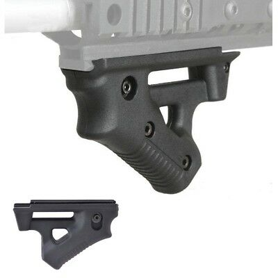 Tactical Custom Ergonomic Canted Foregrip Rail Mount Angled Front Fore Grip - BK