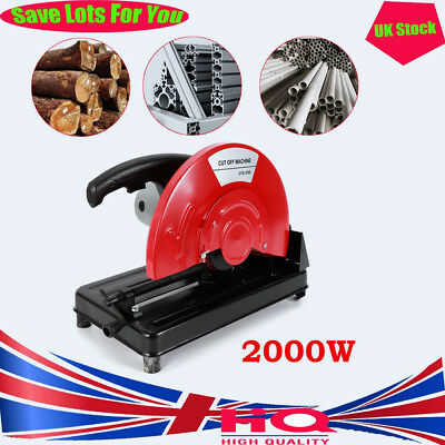 350mm 2000W Chop Saw Cutting Off Abrasive Mitre Saw Electric Corded Cutting Off.