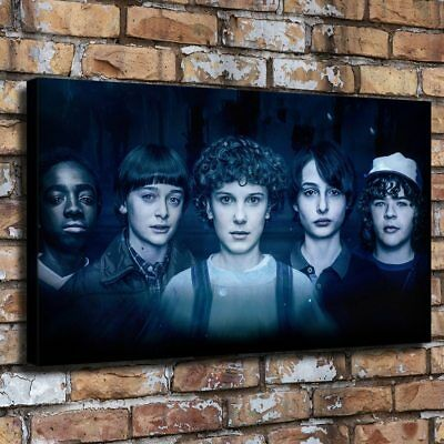 """24""""x42"""" stranger things HD Canvas prints Painting Home Decore Picture Wall art"""