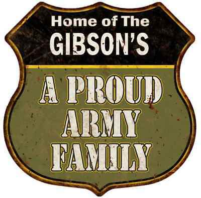 SP0725 The GIBSON/'S Family name Sign Bar Store Shop Cafe Home Chic Decor Gift